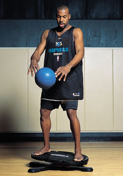 All Star Sprints >> The NBA Workout - New Orleans Hornets, Baron Davis's fitness program